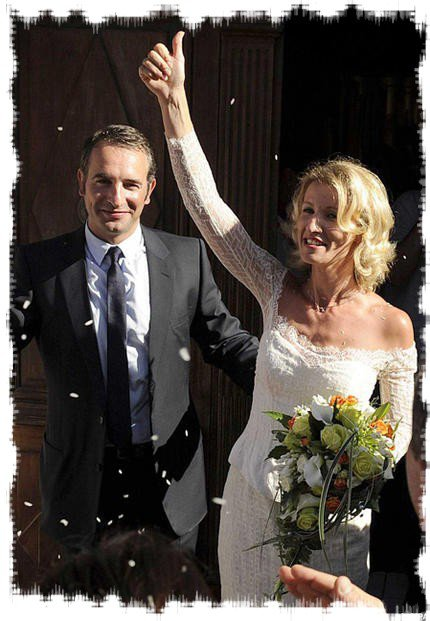 Jean dujardin et alexandra lamy mariage de stars for Age dujardin