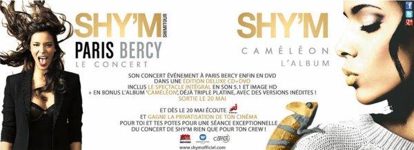 """[ Cam�l�on + Live @ Bercy + Interview """"En plein coeur"""" + privatisation d'un cin� gagner avec Nrj ]"""