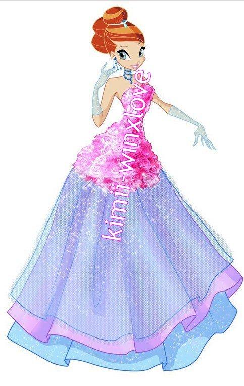 winx saison 5 collections Flower princesse !