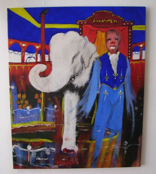 K Circus | Histoire d'une toile 5 - Making of