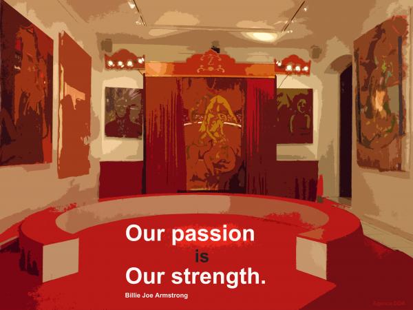 La passion est notre force