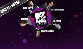 SOPRANO AU MTV EUROPE MUSIC AWARD (EMA)