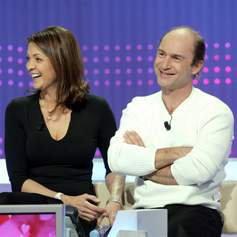 Vincent Lagaf' et sa femme V�ronique