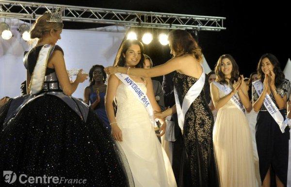 Pauline Bazoge, Miss Auvergne 2015