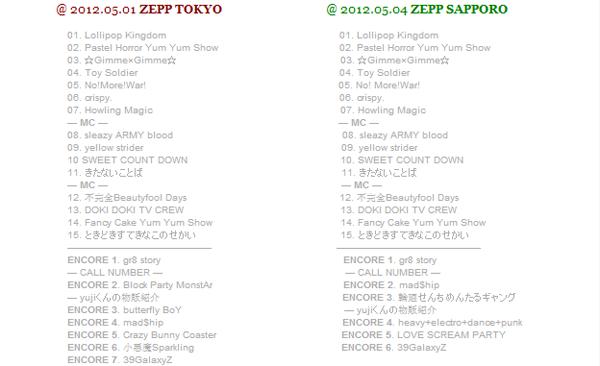『The Lollipop Kingdom Show』@ ZEPP TOKYO + ZEPP SAPPORO