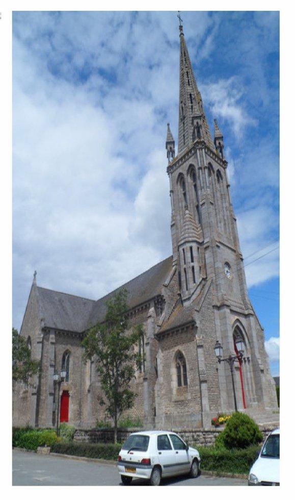L 39 glise saint jean baptiste de saint jouan de l 39 isle for Garage galivel saint jouan de l isle