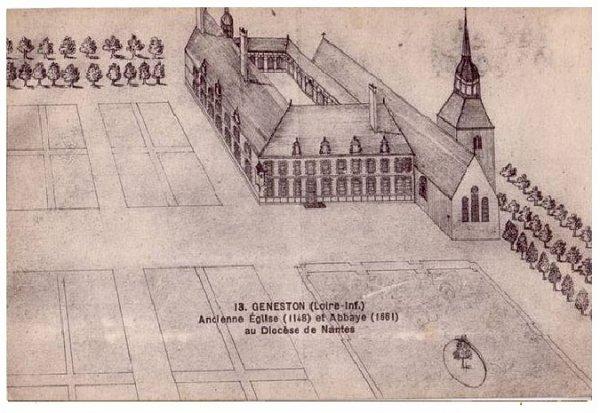 Abbaye de la Madeleine de Geneston.