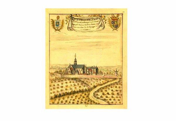 L'abbaye de Villeneuve Les Sorinières