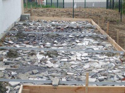Pose des joints de dilatation blog de floca059 - Pose joint de dilatation dalle beton ...