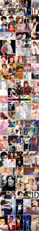 Collage photo One Direction