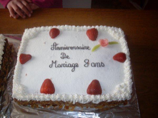gateaux anniversaire de mariage - Blog de sabrinabernard