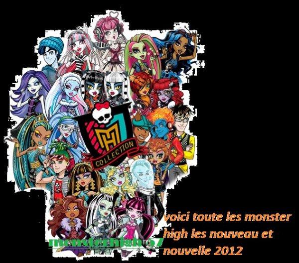 Toute les monster high monsterhigh 57 - Toutes les monster high ...