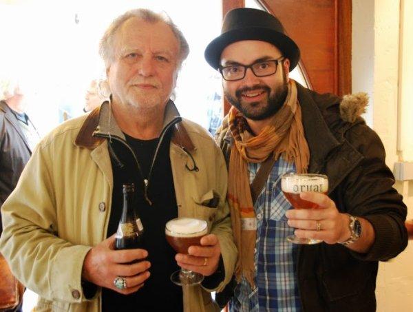 Rencontre avec Sam Bernett ( biographe de Johnny Halliday , producteur de Métallica...).