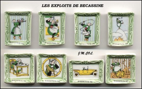 ECHANGE SERIE OU VENTE - BECASSINE - 1996  ( EXPLOITS DE BECASSINE)