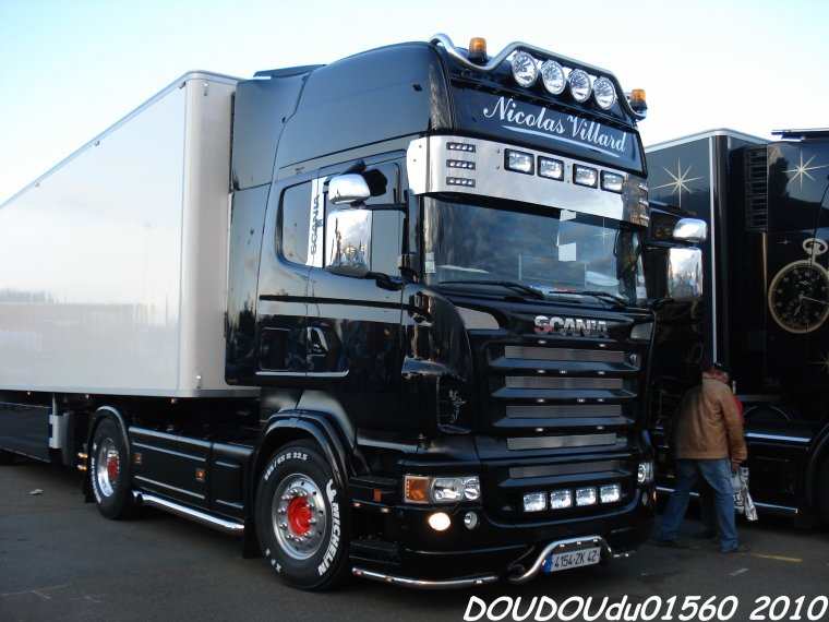 scania r500 v8 nicolas villard 24h du mans 2010. Black Bedroom Furniture Sets. Home Design Ideas