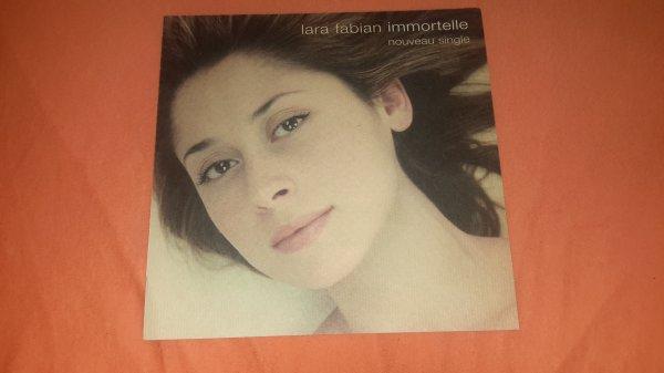 "plan m�dia Lara Fabian ""Immortelle "" version 1"