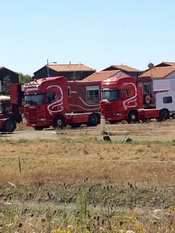 Scania du cirque Sebastien ZAVATTA