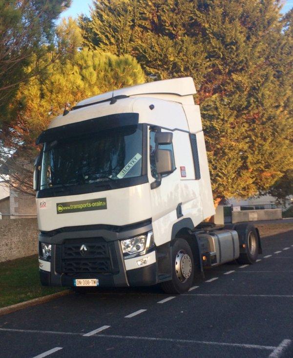 Renault Range T Transports Orain