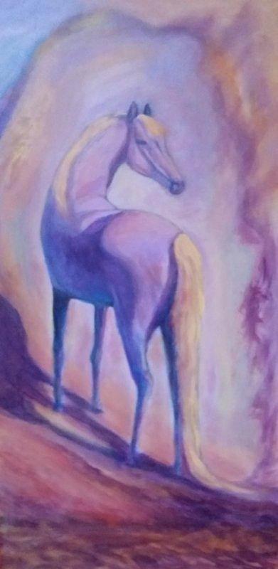 peinture retravaill�e