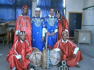 groupe gnawa de souss ville d'agadir