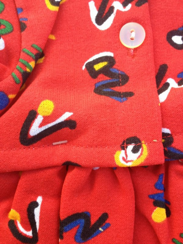 Original robe catalogue 1990 �milie a choisi sa robe pour la rentr�e