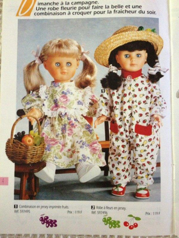 Petit catalogue tenue boutique M&t : Un dimanche � la campagne, les enfants s'amusent surtout C�cile