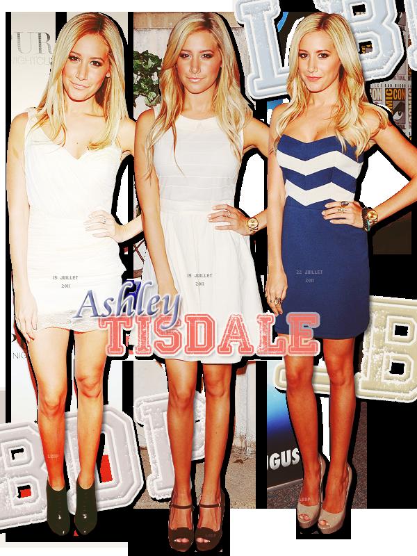 Selection TOP d'Ashley Tisdale du mois de Juillet. Inspire toi!