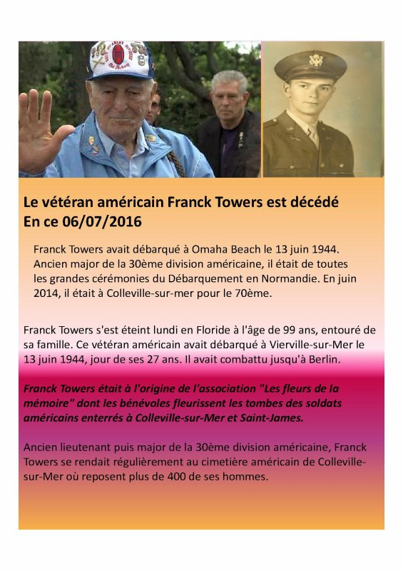 Mon Hommage � Mr Towers