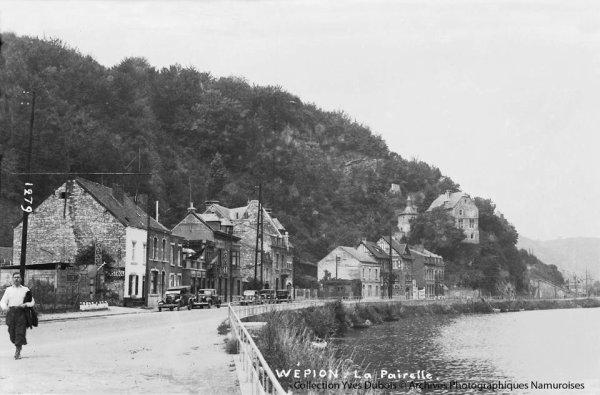 """Pour les amateurs de vues anciennes sur notre belle vall�e mosane en Haute-Meuse; """"En descendant la Meuse de Profondeville � Namur en photos cartes MOSA de 1935 � 1960 - Rivi�re - Lustin - Tailfer - Dave - W�pion - Jambes"""