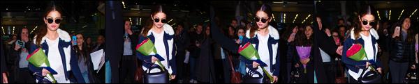 10.03.16 ─ Au revoir Paris ! Selena a �t� vue arrivant � la gare � Eurostar � qui se situe dans la ville de Londres. [/s#00000ize]Le repos ? Et bien ce ne sera probablement pas pour tout de suite pour notre Selly ... En effet, apr�s un s�jour � Paris, elle encha�ne avec Londres ![/alig fen]
