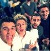 Deo Devine a posté cette photo sur instagram de Niall ♡. Liam et Louis avec William Garret récemment !