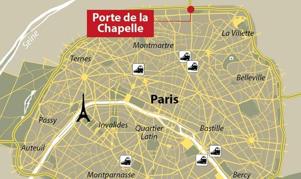 Spectaculaire braquage aux portes de paris le 17 ao t 2014 e m g p la plaine saint denis 93 - Le five porte de la chapelle ...