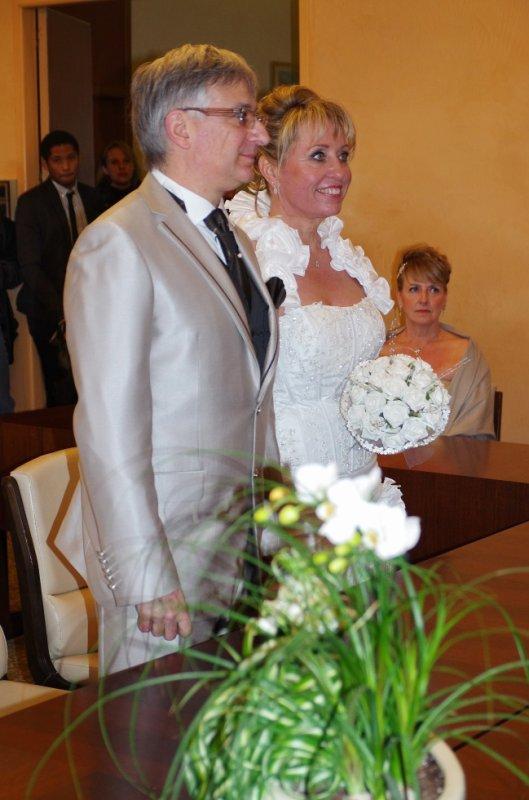 Notre mariage!