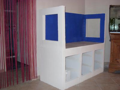 Le fond tout et rien - Fabriquer meuble aquarium ...