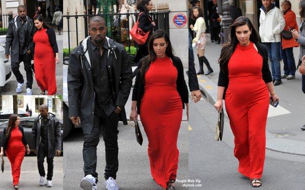 Le Couple Kim Kardashian Kanye West Se Sont Promener