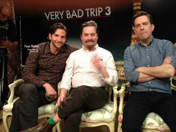 VERY BAD TRIP 3 : DÉCOUVREZ MA PREMIÈRE INTERVIEW  Avec Bradley cooper, Zach Galifianakis, Ed Helms, Justin Bartha, Haether Graham et Ken Jeong !