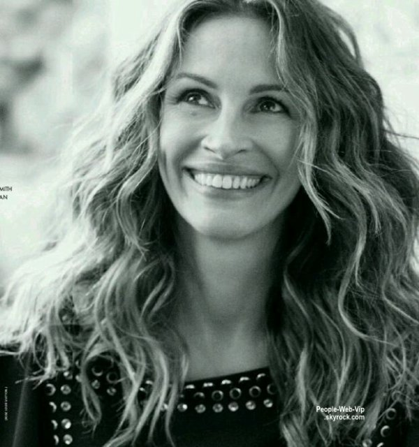 julia roberts est en couverture du magazine elle france. Black Bedroom Furniture Sets. Home Design Ideas