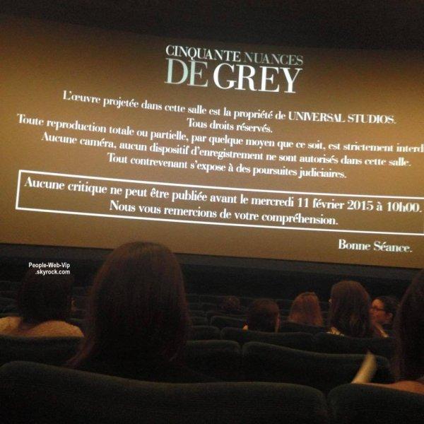 """"""" CINQUANTE NUANCES DE GREY """" Avec Jamie Dornan, Dakota Johnson, Jennifer Ehle."""