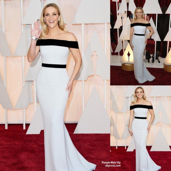 - LES OSCARS 2015 - RED CARPET -     Jennifer Lopez, Cate Blanchett, Zoe Saldana, Reese Witherspoon, Naomi Watts, Kerry Washington et la chanteuse Rita Ora sur le tapis rouge lors de la grande c�r�monie des Oscars 2015.   (au Th��tre Dolby dimanche (22 F�vrier) � Hollywood.)