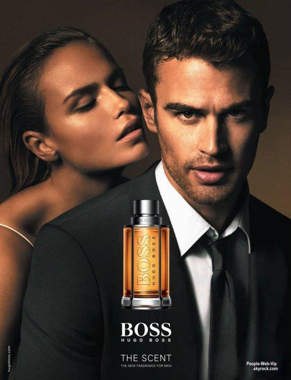 Pour incarner ce nouveau parfum, la maison Hugo Boss a fait appel à l'acteur britannique Theo James ! Et on aime ça !