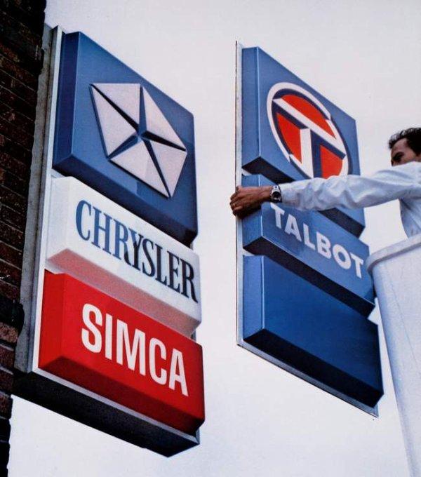 SIMCA/TALBOT ou comment d�truire une entreprise en 10 ans