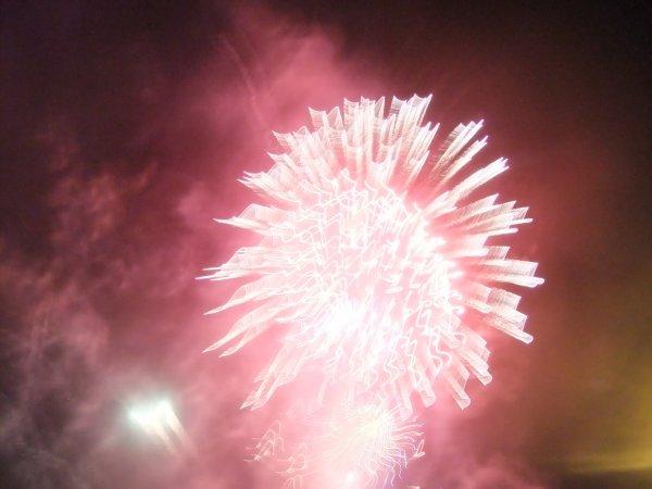 Feux d'artifices le 14 Juillet et le 17 Juillet 2012!