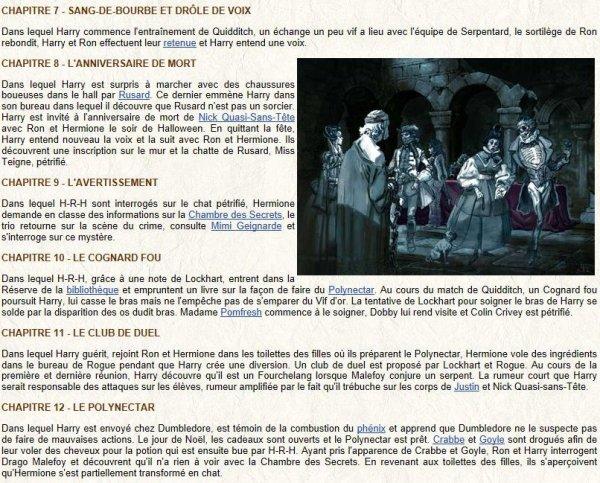 Blog de harrypotter0237 page 7 harry potter fan - La chambre des officiers resume detaille ...