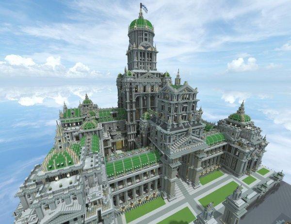 Chateau de minecraft minecraft de tristan130 - Chateau de minecraft ...