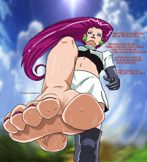 Les pieds de Jessie dans pokemon - Le monde d'un adorateur ...