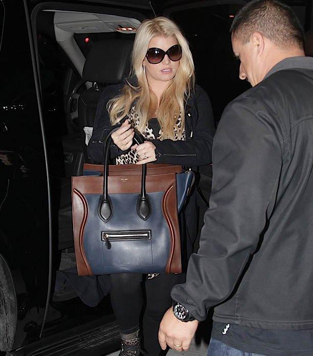 Kardashian with Celine Boston Bags Large Luggage Totes Navy Wine ...