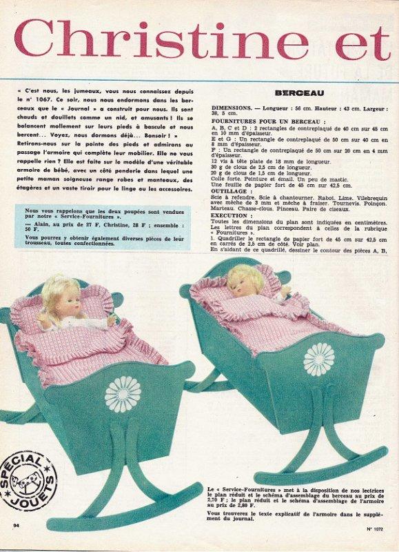 Femmes d'Aujourd'hui ,quelques pages poupées