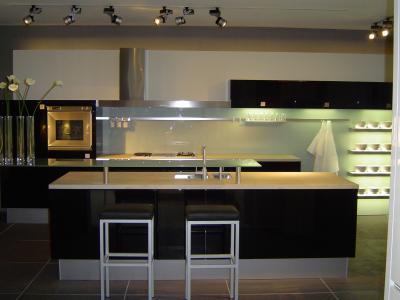 Cuisine et credence en verre afdesign personnalisation for Credence verre cuisine