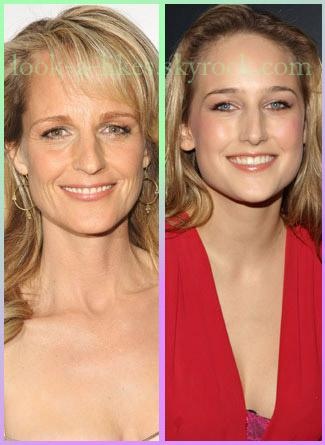 Helen Hunt eyes wide shut