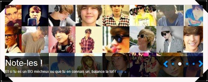Catalogue des sosies de Justin Bieber, le premier catalogue sur les sosies de Justin Bieber et sur les m�cheux. !